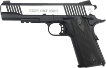 Colt 1911 Rail Dual Tone, Blowback Co2 6mm