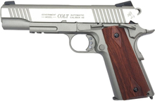 Colt 1911 Rail Stainless, Blowback Co2 6mm