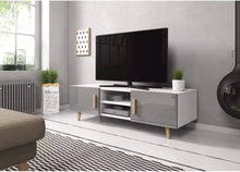 Vivaldi Furniture SWEDEN 2 TV bänk vit/grå