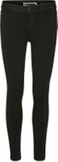 NOISY MAY Lucy Nw Power Shape Skinny Fit Jeans Kvinder Sort