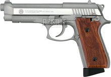 Taurus PT92 Stainless Semi/Full Auto Co2 6mm