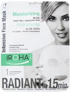 Iroha tissue face mask moisturizing aleo 23ml.