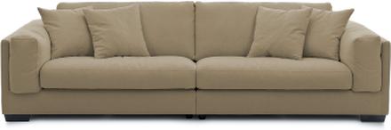 Feather 3-sits soffa Eskimo 8005