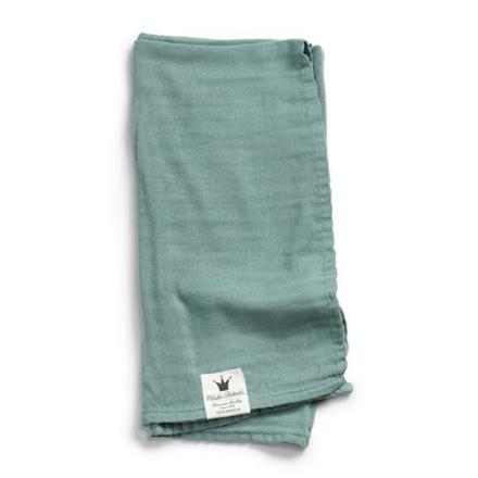 Elodie Details Bamboo Muslin Blanket Mineral Green