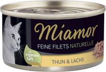 Miamor Feine Filets Naturelle 6 x 80 g - Bonito Thunfisch