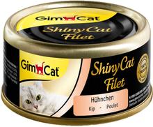 GimCat ShinyCat Filet 6 x 70 g - Tun & Ansjoser