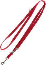 Hunter Führleine Ecco Sport, rot - 110 cm lang, 15 mm breit