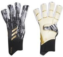 adidas Keeperhanske Predator 20 Pro Fingersave Promo Inflight - Sort/Hvit/Gull