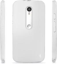 Suojakuori, läpikuultava, Motorola Moto G3, TPU-kumi