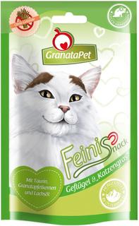 Blandet pakke: GranataPet Feini kattesnacks - Blandet snackpakke