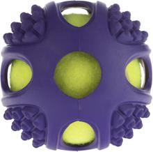 Gummitennisboll 2in1 - 1 st Ø 6 cm