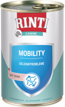 Rinti Canine Mobility med okse 400 g - 12 x 400 g