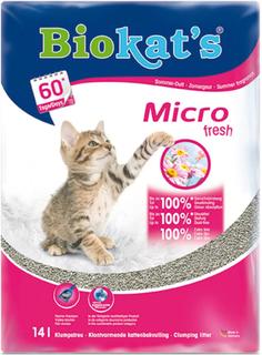 Biokat's Micro Fresh kattegrus - 14 l
