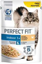 Perfect Fit Indoor 1+ Kylling - 24 x 85 g