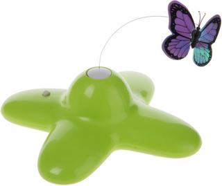 Kattelegetøj Funny Butterfly - Økonomipakke: 1 Funny Butterfly + 4 reservesommerfugle