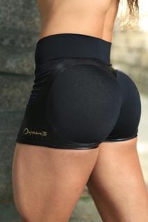 DYNAMITE BLACK APPLE BOOTY SHORTS