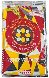 Renée Voltaire Tortillachips Ø - Boghvede og Chili, 70 g