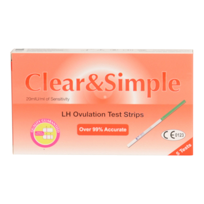 Clear & Simple 5 Ovulation Test Strips 5 kpl