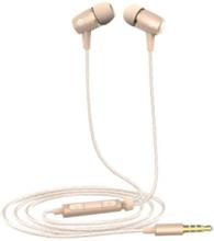 AM12 Plus In-Ear Earphones in Gold - Gold