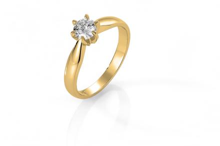 Diamant ring Solitaire 0,50CT
