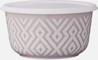 Abella skål violet grå