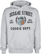 Sesam Stasjon - Cookie Dept. -Hettegenser - lysegrå melert