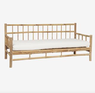 Sofa m/hynde bambus