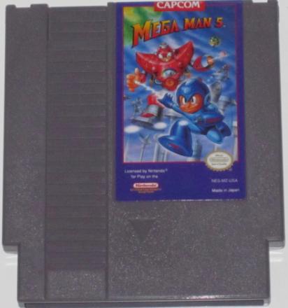 Mega Man 5 (NES) NTSC