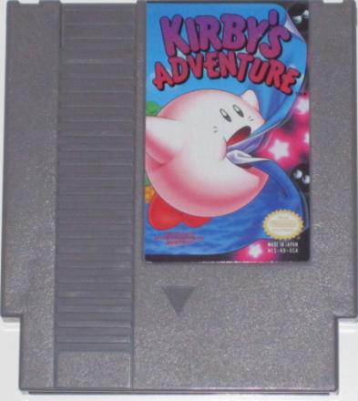 Kirby's Adventure (NES) NTSC