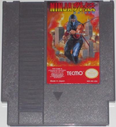 Ninja Gaiden (NES) NTSC