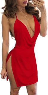 Party kjole, Rød