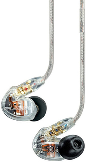 Shure Sound Isolation headphones, in-ear (SE535 - clear)