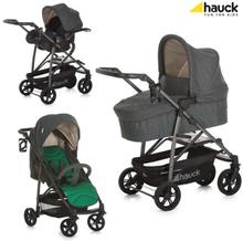 Lastenvaunupakkaus Rapid 4S Plus, Caviar/Emerald, Hauck