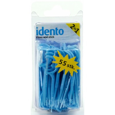 Idento Floss & Stick 55 stk