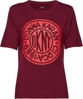 Dkny Only In Dkny T-Shirt Topp Rød DKNY HOMEWEAR