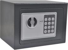 vidaXL Digital safe elektronisk 23x17x17 cm
