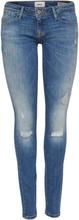 ONLY Carmen Reg Skinny Fit Jeans Women Blue