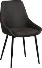 Sierra stol Mörkgrå/svart