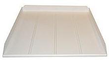 Dryppbakke t/oppvaskmaskin 450 x 600 mm, hvit