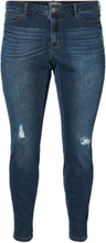 JUNAROSE Slim Fit Jeans Women Blue