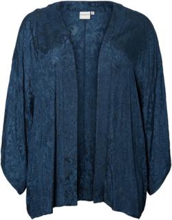 JUNAROSE Embroidered Kimono Kvinna Blå