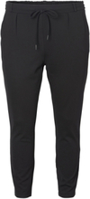 JUNAROSE Slim Jersey Trousers Women Black