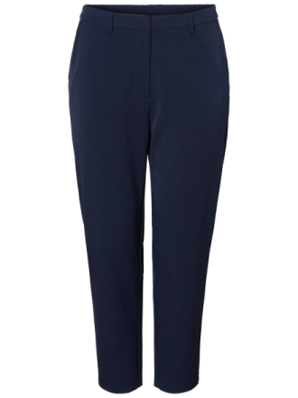 JUNAROSE Tailored Ankle Trousers Women Blue