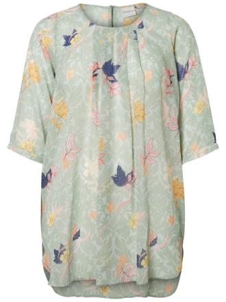 JUNAROSE Flower Printed Tunic Women Green