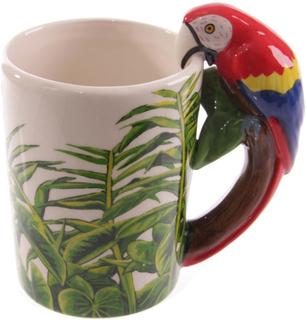 Mugg Exotisk Papegoja
