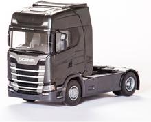 Emek Scania S 410 Next Generation Draglastbil 2-axlad Svart
