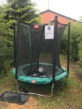 Brugt favorit trampolin 430, med tattoo springmåtte