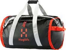 Haglöfs Lava 90 Duffel Bag true black/habanero 2019 Duffelväskor