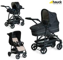 Lastenvaunupakkaus Rapid 4 Plus, Caviar/Beige, Hauck