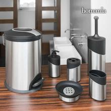 Bathroom Solutions Badrumsset 6 delar rostfritt stål